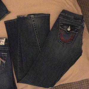 4 True Religion jeans